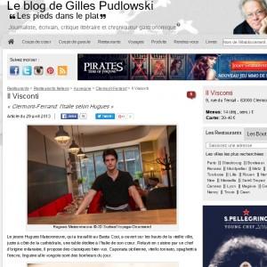 2016-02-16 18_42_03-Il Visconti, restaurant italien Clermont-Ferrand - l'Italie selon Hugues _ Resta